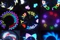 LED подсветка на колесо 30 эффектов велосипедная