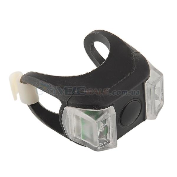 LED фонарь,силиконовый,велосипедный,3 режима работы