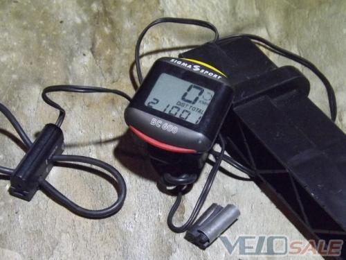 Велокомпьютер Sigma BC-600  Цена  - 250 грн  Состо - Чернігів - 250 грн.
