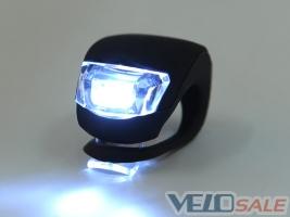 LED фонарь силиконовый велосипедный
