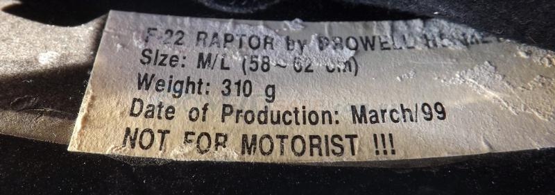 Шлем Raptor F-22 Europe размер 58-62  HTTPS://VELO - Чернігів - 300 грн.