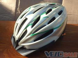 Шлем МТБ бело-зеленый размер 54-58  HTTPS://VELOPU - Чернігів - 300 грн.