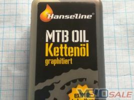 Смазка для цепи Hanseline MTB-Oil 125ml (графитная - Чернігів - 105 грн.