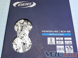 Цепь BBB BCH-80 PowerLine для 8 скоростей  https:/ - Чернігів - 235 грн.