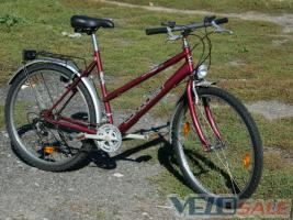 """Велосипед CONQUEST made in Germany колеса 26"""" повне Т/О, SHIMANO ЯКІСТЬ ГАРАНТУЮ! дамка женский"""