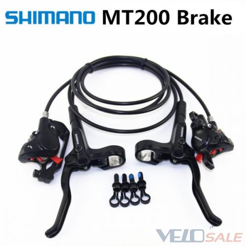 Новые тормоза, SHIMANO MT200, комплект перед-зад,  - Киев - 1299 грн.