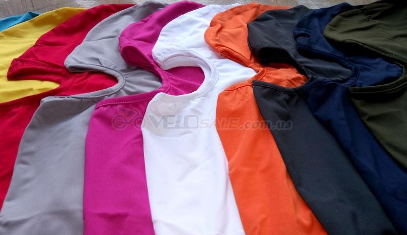 Эластичная балаклава, подшлемник, пыльник, выбор цвета