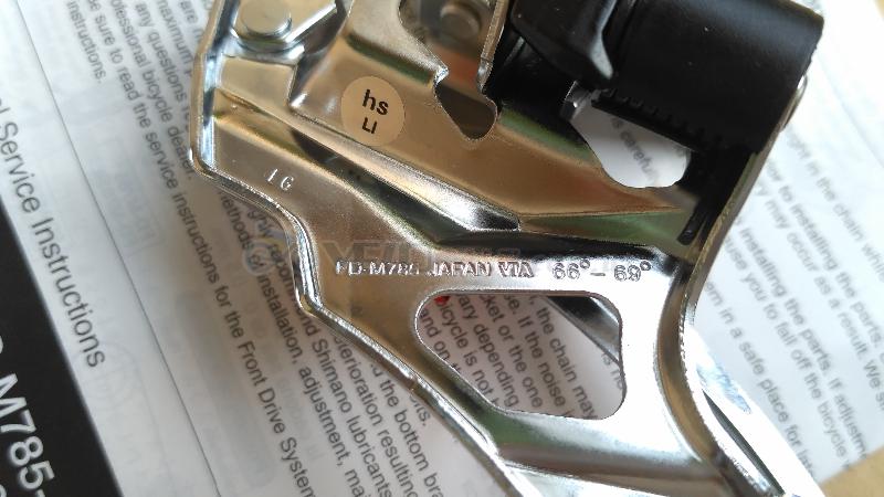Передний переключатель Shimano Deore XT FD-M786 2х - Комсомольск - 500 грн.